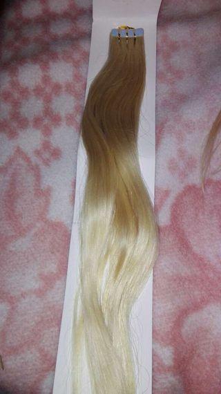 Extensiones adhesivas human hair