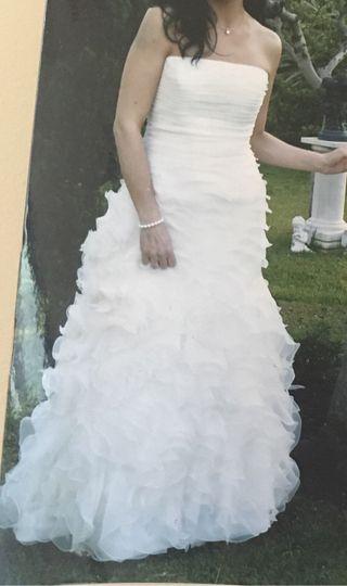 Traje de novia estilo flamenco