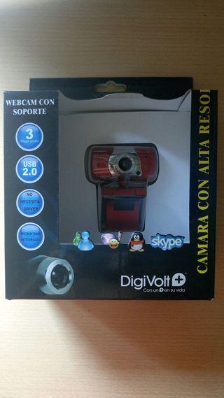 Webcam con soporte DigiVolt +