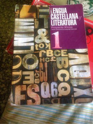 Libro castellano 1bachillerato