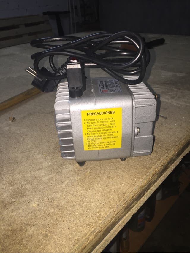 Compresor aerógrafo