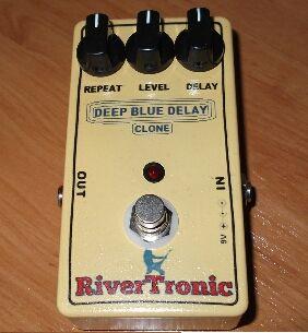 Pedal guitarra Deep Blue Delay MAD PROFESSOR