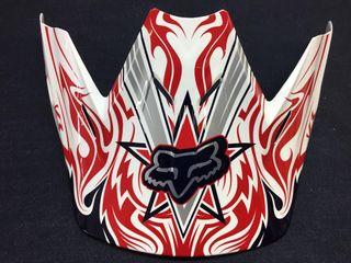 Visera casco Fox V3