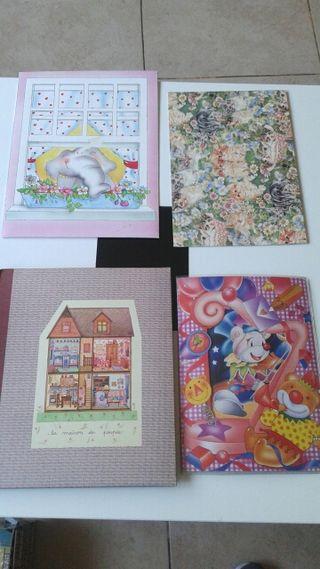 Carpetas de cartas perfumadas