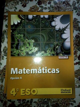 Libro matematicas 4°ESO A