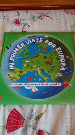 """Atlas infantil """"Mi primer viaje por Europa"""""""