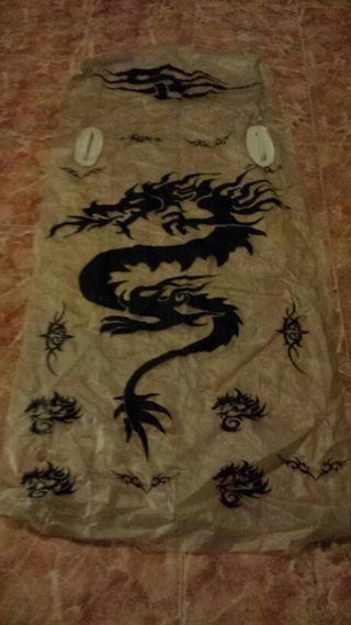 Colchoneta Dragon Tatto.con agarraderas.