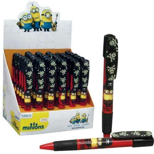 Bolígrafo decorado MINIONS