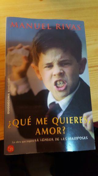 Libro Que me quieres amor?