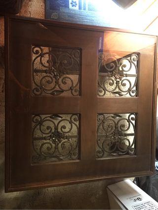Mesa baja rústica estilo mejicano