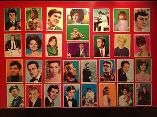 Colección de Cromos Cantantes de hoy. 1967