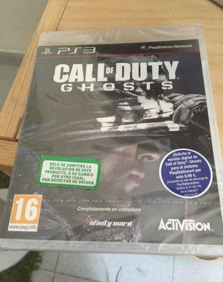 COD Ghosts PS3!! TOTALMENTE NUEVO!