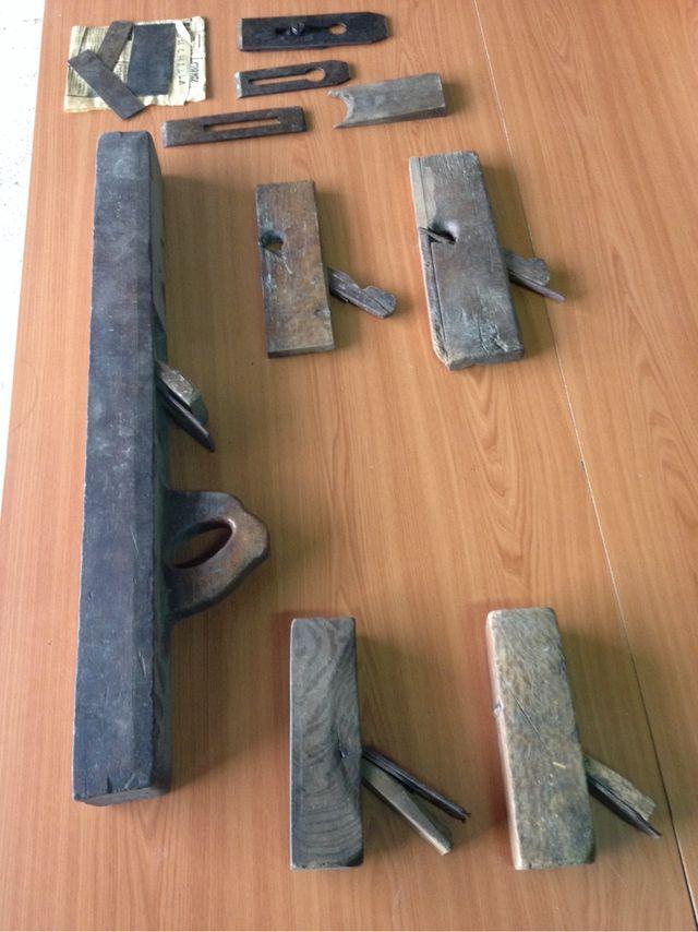 Herramienta carpinteria antigüedades