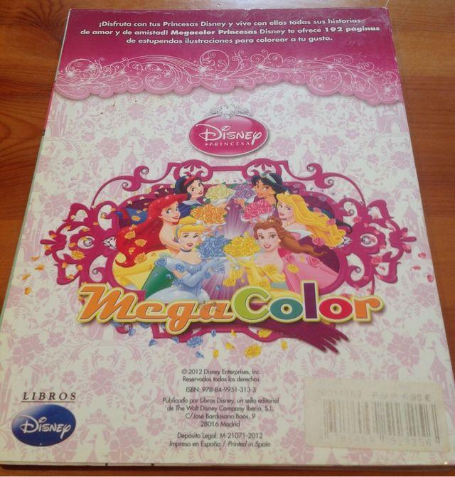 Libro De Princesas Disney Para Colorear. de segunda mano por 5 € en ...
