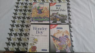 Pack juegos retro Master System