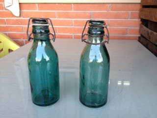 Botellas antiguas Antiguedades