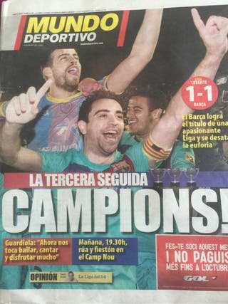 Diario Mundo Deportivo Historico
