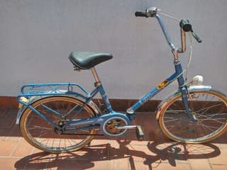 Bicicleta bh de los años 80