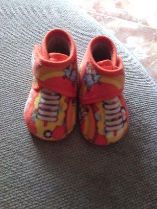 Zapatillas de invierno talla 16