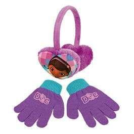 Orejeras y guantes Doctora Juguetes