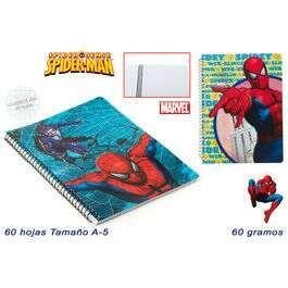 Cuaderno A5 Spider-Man