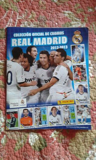 album cromos Real Madrid 2012/13