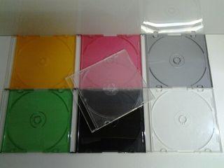Cajas CD y DVD slim