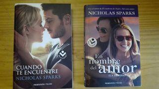 """Nicholas Sparks: """"Cuando te encuentre"""" y """"En nombre del amor"""""""