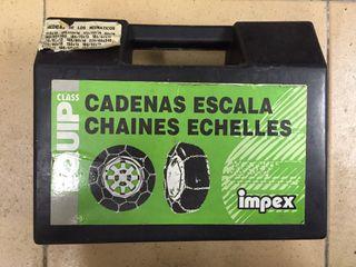 Cadenas de coche para nieve, marca IMPEX, SIN USAR