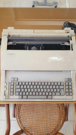 Maquina escribir canon ap1000