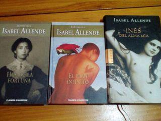 Lote de 2 novelas Isabel Allende IMPECABLES