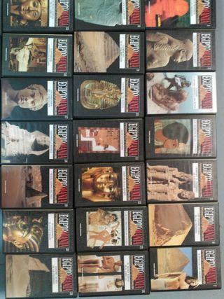Colección 'EgiptoMania' en VHS