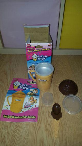 Máquina para hacer helados niños