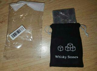 Cubitos de piedra para bebidas