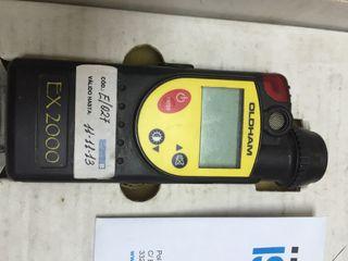 Medidor de metano oldham Testo Ex 2000