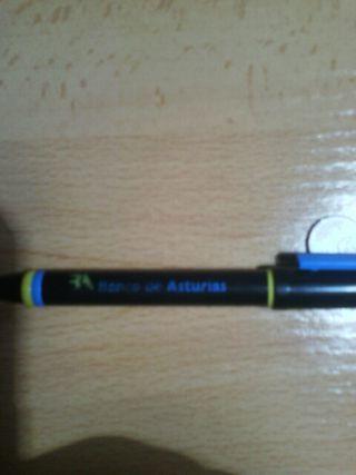 Bolígrafo del banco Asturias