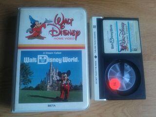 Video Beta A Dream Called Walt Disney World