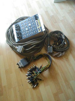 Sistema manguera sonido completa 30 mts