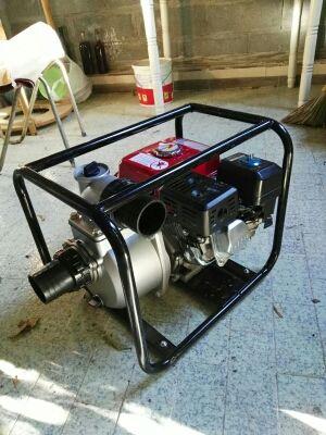 Motobomba 6.5cv 1000 litros/min