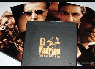 Trilogía de El Padrino en dvd.