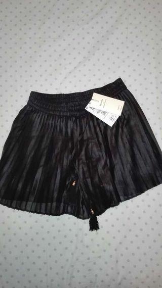 Falda pantalon Bershka