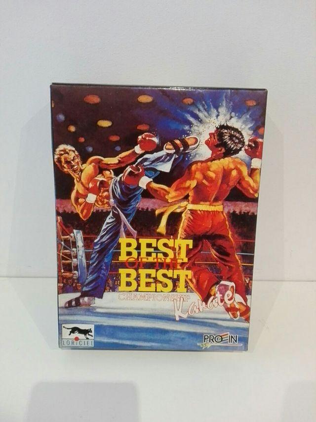 Juego retro para PC Best Of the best Karate de segunda ...