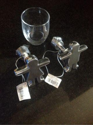 colgadores de metal de segunda mano por 4 en sant cugat