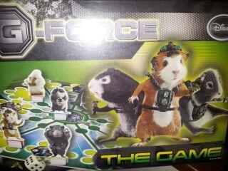 Juego de mesa G-force