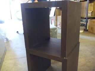 Mesa auxiliar madera roble de diseño nueva