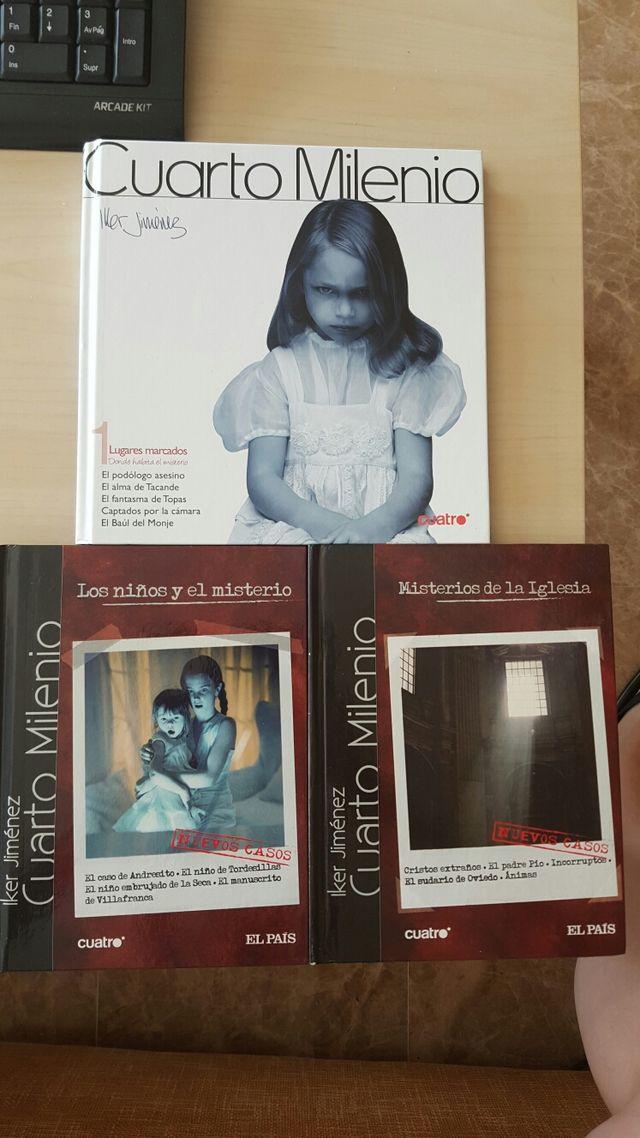 Libros y dvd de cuarto milenio de segunda mano por 3 € en Valencia ...