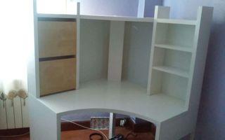 Colchon viscolastico y escritorio. Regalo mesa cristal maquina de coser de pedal