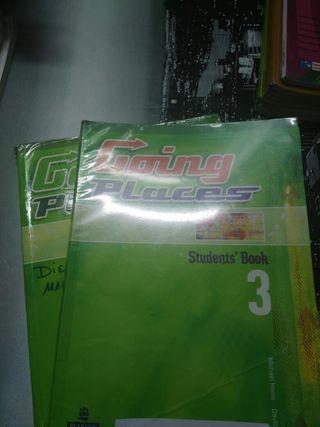 Libros de ingles 3°Eso workbook y students book