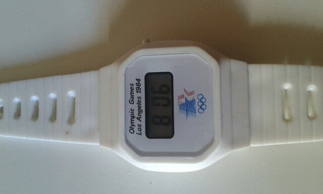 Reloj tipo casio juegos olímpicos
