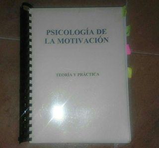 Libro Psicologia de la Motivación. UNED.